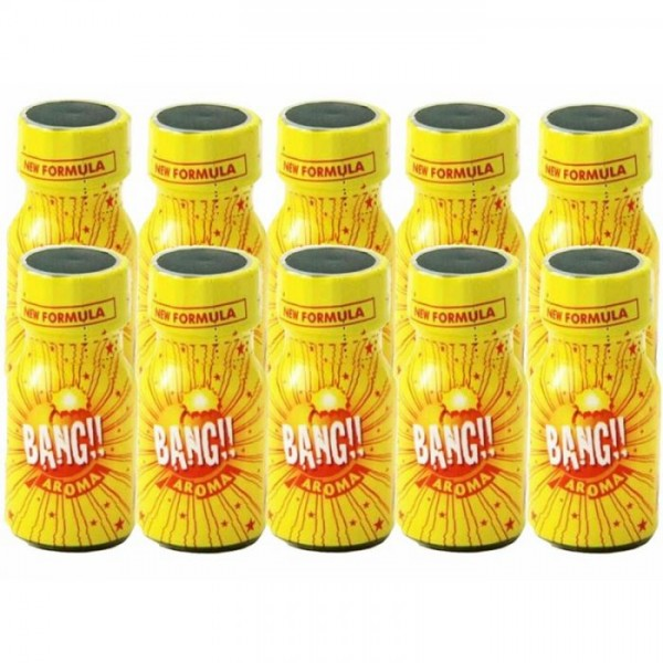 Bang Poppers Aroma 10ml 10 flesjes