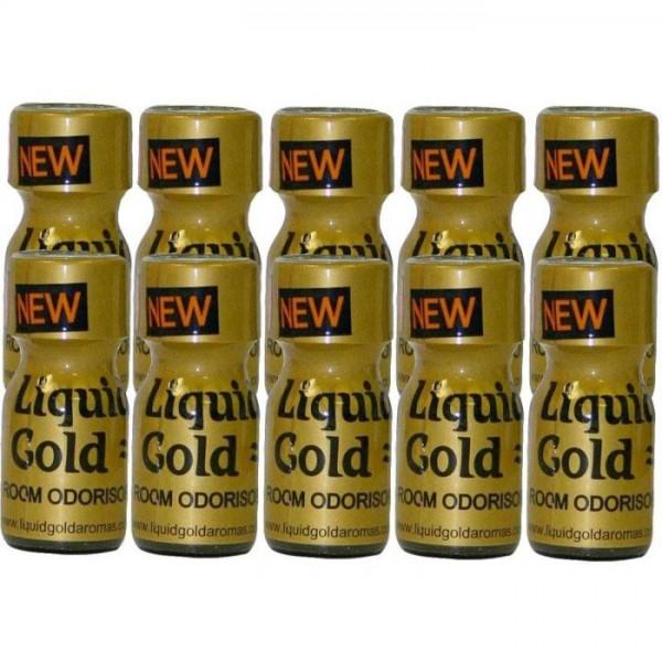 Poppers Liquid Gold 10ml 10 Flesjes