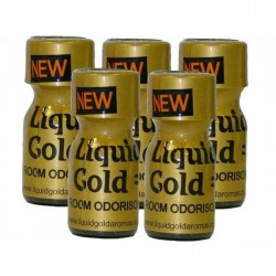 Poppers Liquid Gold 10ml 5 Flesjes