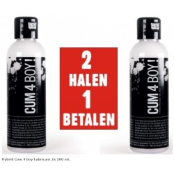 Hybrid Cum 4 boy Lubricant 2x 100 ml