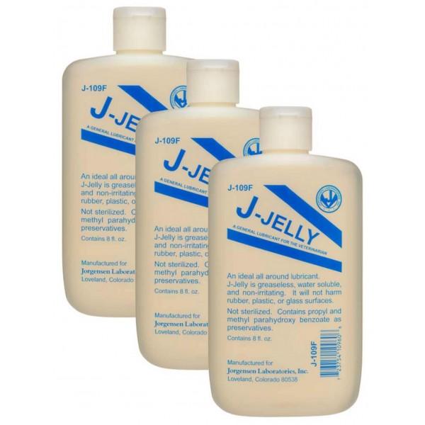 J-Lube J-Jelly (voorgemixte J-Lube) 237 ml - 3 Pack