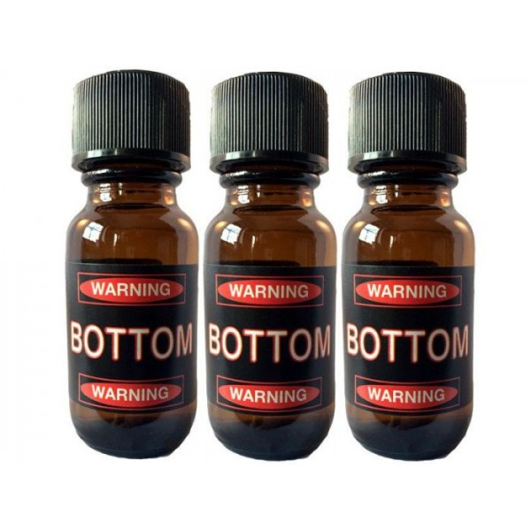Bottom Aroma 25ml Poppers Extra Strong 3 Flesjes