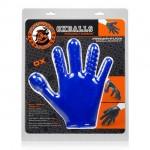 Finger Fuck Handschoen - Blauw