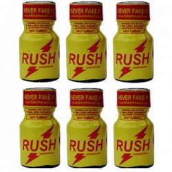 Rush Poppers Leathercleaners Roomodorizers 5 flesjes
