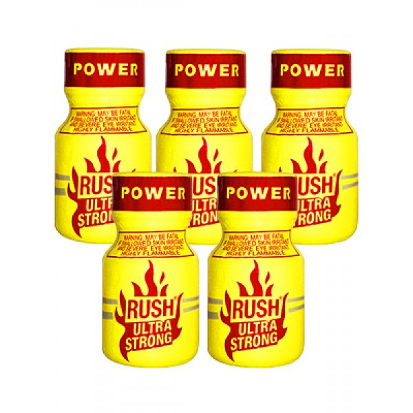 Rush Poppers Ultra Strong Leathercleaners Roomodorizers 10 flesjes
